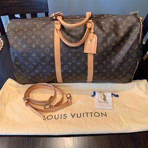 Louis Vuitton Keepall 60 Bandouliere w/  Strap